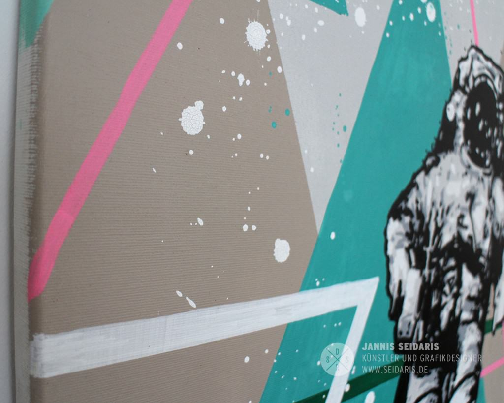 Seidaris_Astronaut_Canvas_Art_Cologne_Art_Fair_Malerei