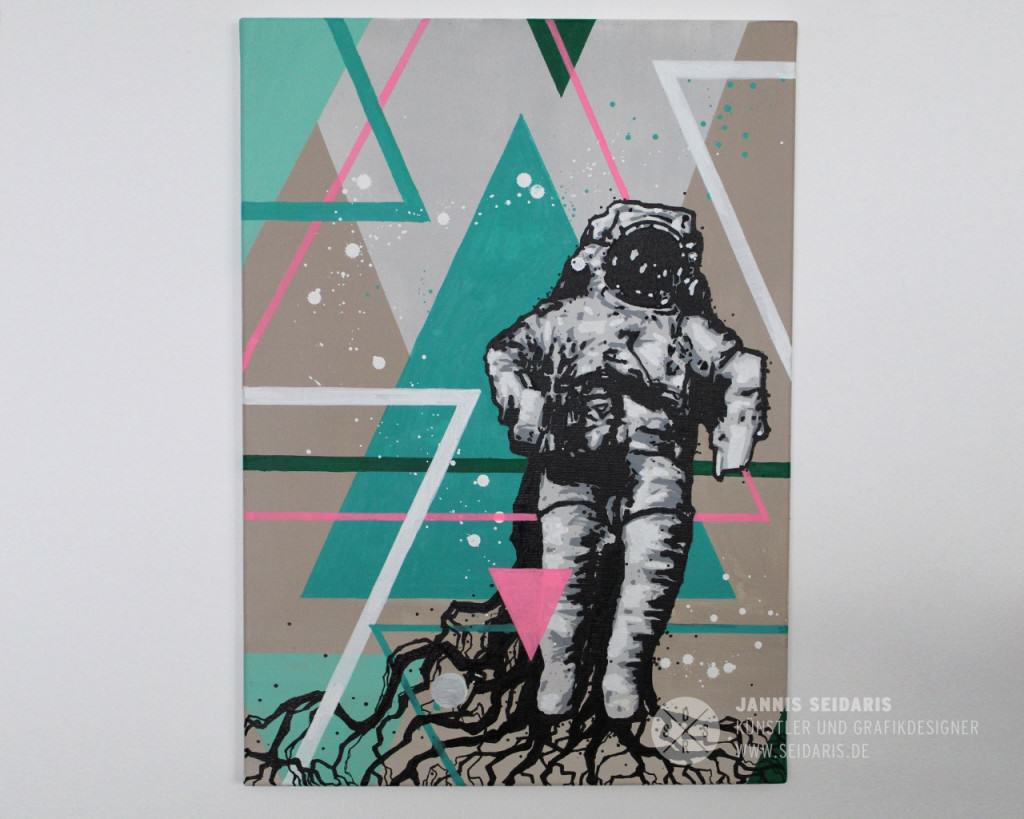 Seidaris_Austronaut_Painting_Street_Art_Bonn_Duesseldorf