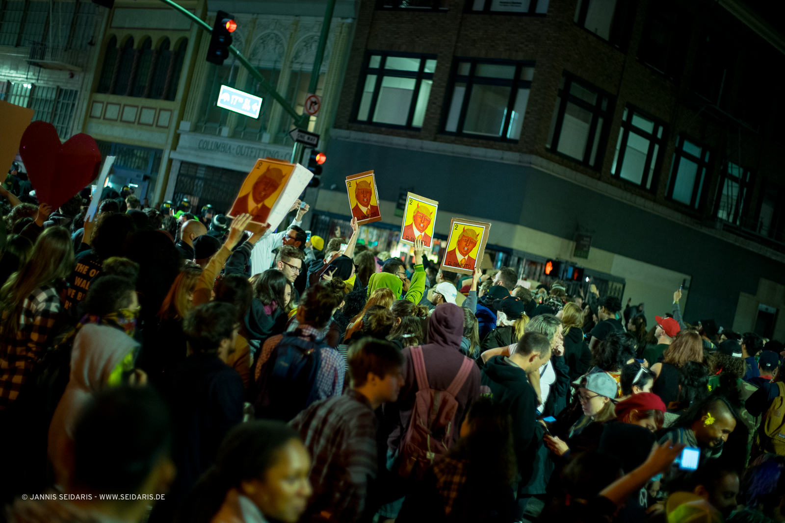Oakland Downtown Trump Protests